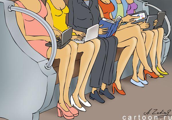 Карикатура: гаждеты, Александр Зудин