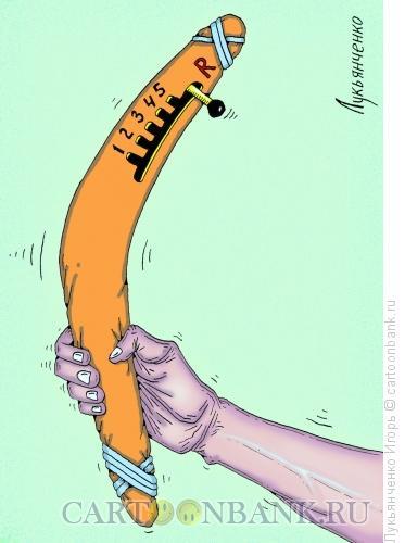 Карикатура: Бумеранг, Лукьянченко Игорь