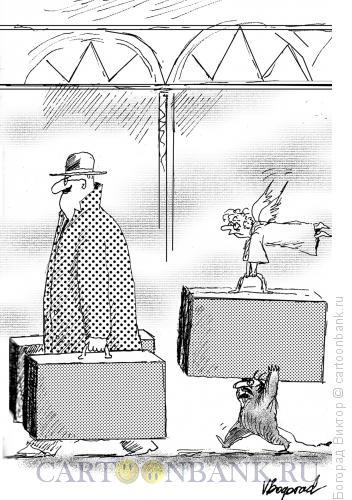 Карикатура: Важный Пассажир, Богорад Виктор