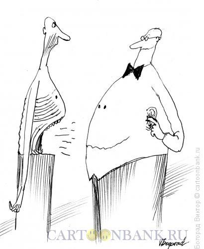 Карикатура: Сытый голодного не разумеет, Богорад Виктор