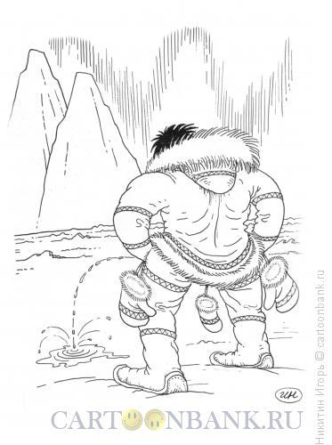 Карикатура: гульфик, Никитин Игорь