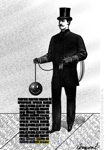 Карикатура: Трубочист, Богорад Виктор