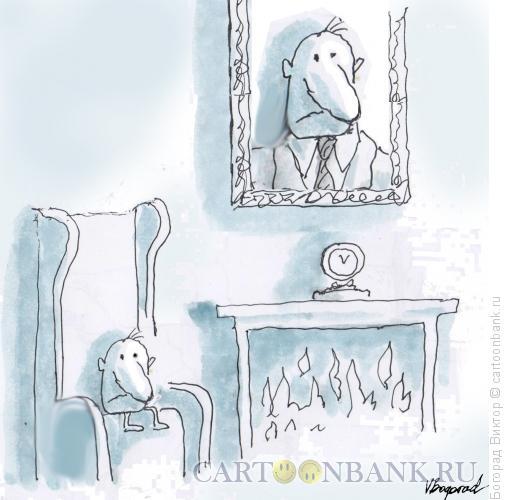 Карикатура: Самомнение, Богорад Виктор