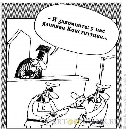 Карикатура: Конституция, Шилов Вячеслав
