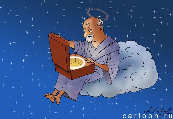 Карикатура: Подарок, Александр Зудин