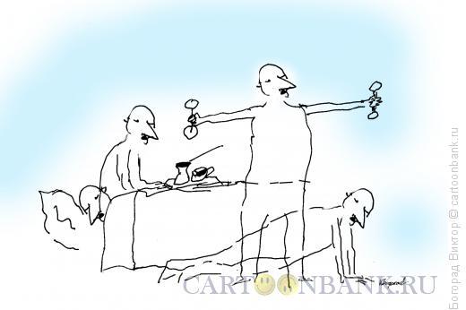 Карикатура: Утренние грезы, Богорад Виктор
