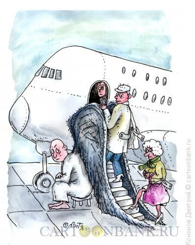 Карикатура: ангел-трап, Кононов Дмитрий