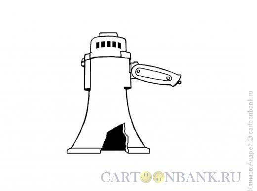 Карикатура: Царь-рупор, Климов Андрей