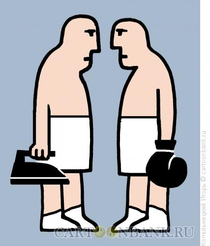 Карикатура: бокс, Копельницкий Игорь