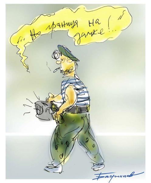 Карикатура: День пограничника 2017, Ingvarr
