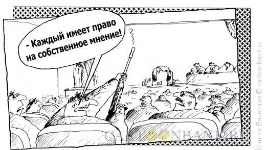 Карикатура: Мнение, Шилов Вячеслав