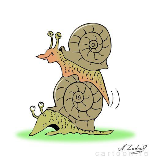 Карикатура: безопасный секс, Александр Зудин