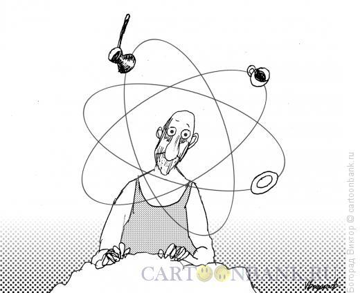 Карикатура: Крепкий утренний кофе-2, Богорад Виктор