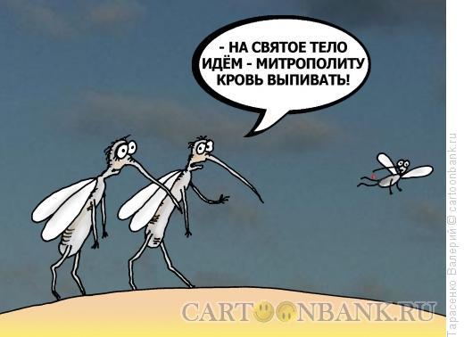Карикатура: Комарики, Тарасенко Валерий