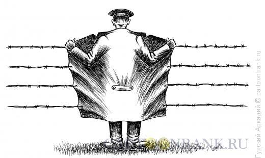 Карикатура: пальто, Гурский Аркадий