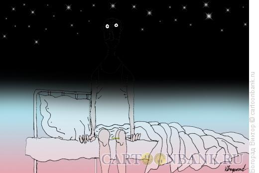 Карикатура: В полусне, Богорад Виктор