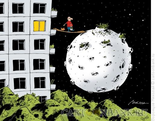 Карикатура: Мусор, Воронцов Николай