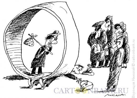 Карикатура: ДТП, Воронцов Николай