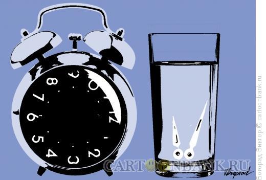 Карикатура: На прикроватной тумбочке, Богорад Виктор
