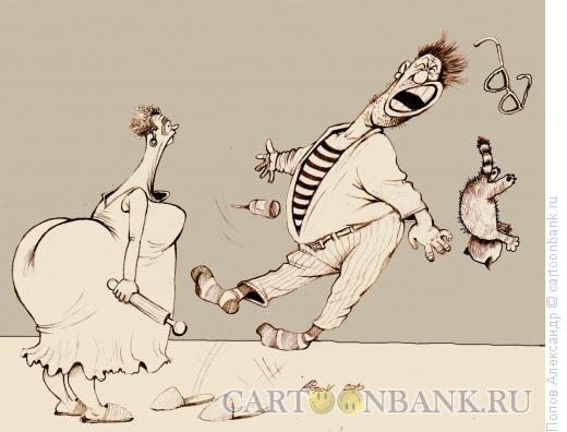 Карикатура: Во-он!!!, Попов Александр