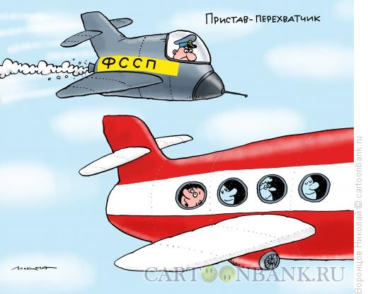 Карикатура: Пристав, Воронцов Николай