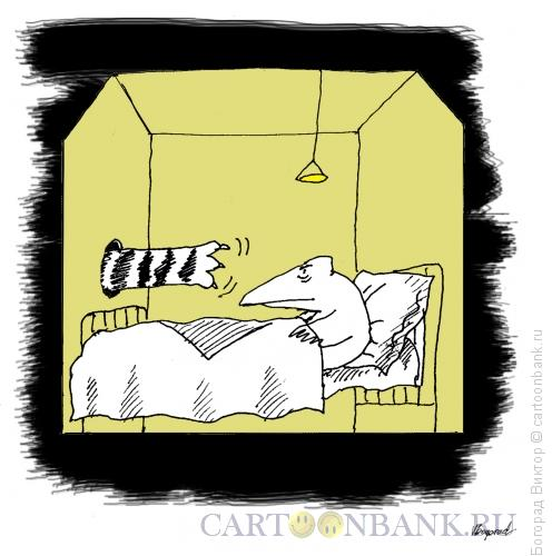 Карикатура: Скворечник, Богорад Виктор