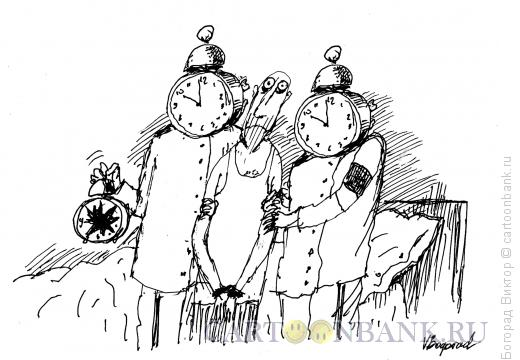 Карикатура: Арест убийцы, Богорад Виктор