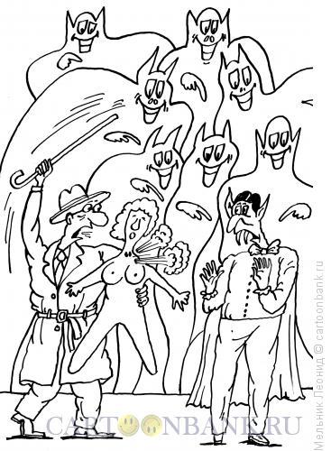 Карикатура: Ошибка, Мельник Леонид