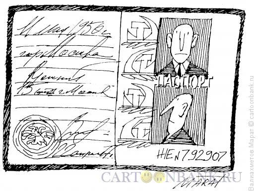 Карикатура: Документ, Валиахметов Марат
