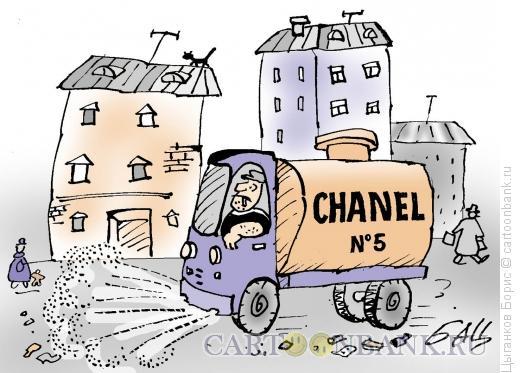 Карикатура: Шанель 5, Цыганков Борис