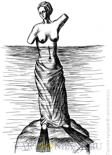 Карикатура: венера, Гурский Аркадий