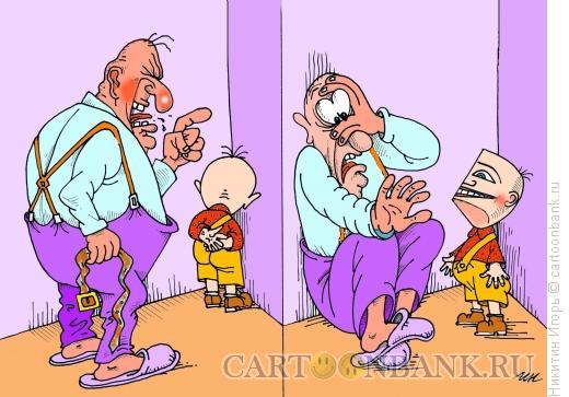 Карикатура: Угол, Никитин Игорь
