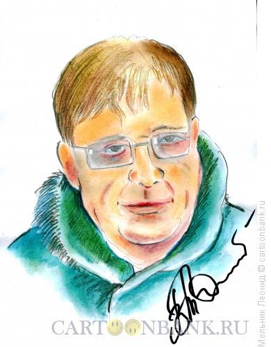 Карикатура: Василий Толстиков, Мельник Леонид