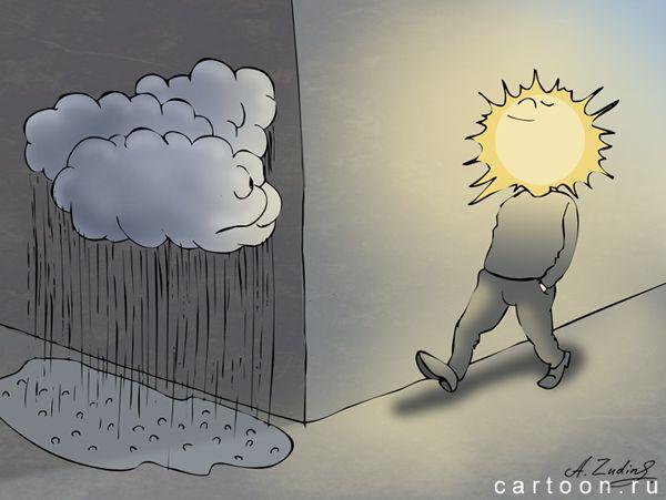 Карикатура: В июле 17-го, Александр Зудин