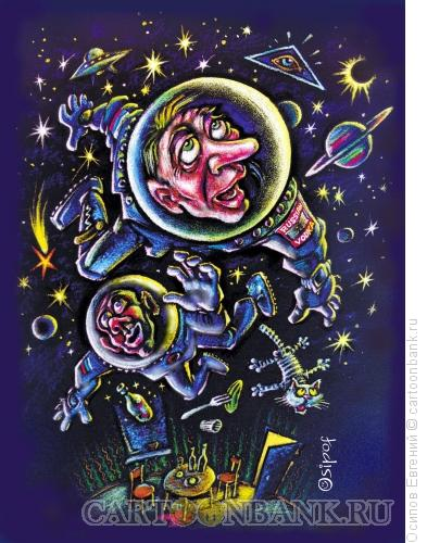 Карикатура: алконавты, Осипов Евгений