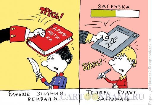 Карикатура: Знания, Воронцов Николай