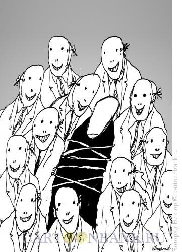Карикатура: Виновник, Богорад Виктор