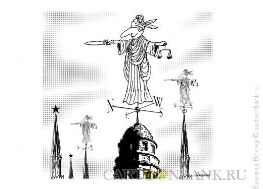 Карикатура: Флюгер, Богорад Виктор