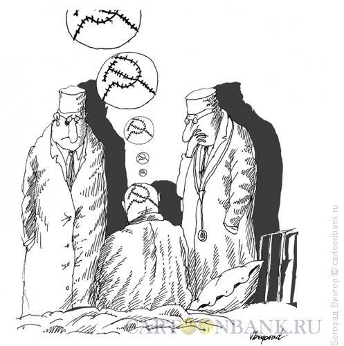 Карикатура: Тяжелый случай, Богорад Виктор