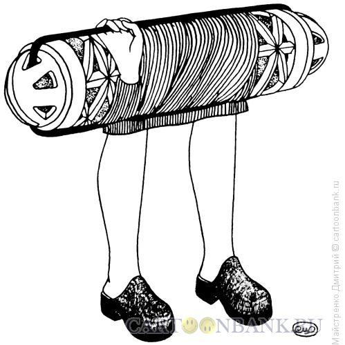 Карикатура: бигуди, Майстренко Дмитрий