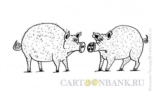 Карикатура: Пуговица, Мельник Леонид