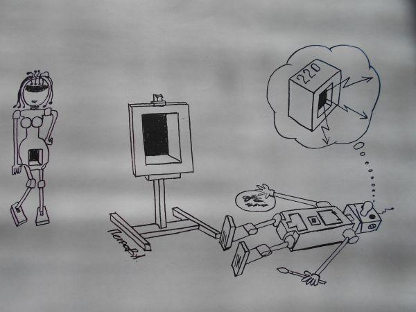 Карикатура: Robots, Петров Александр