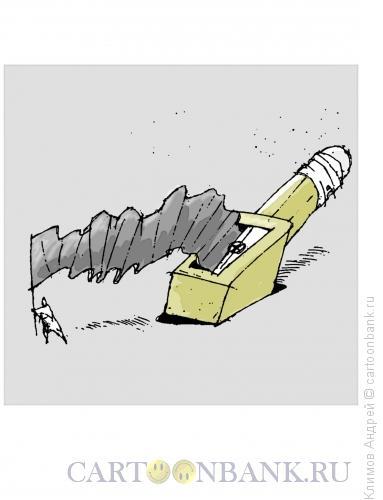 Карикатура: Знаменосец, Климов Андрей