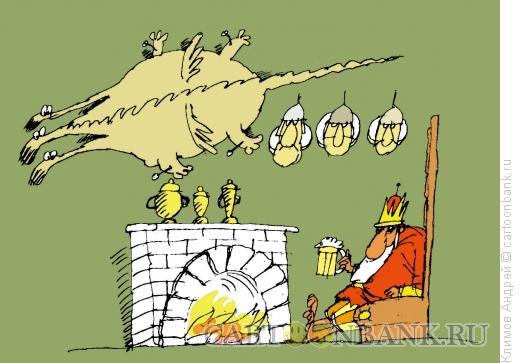 Карикатура: Просто царь, Климов Андрей