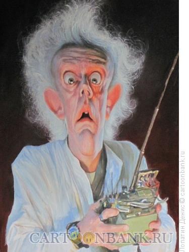 Карикатура: Doc (?????? ?????? ?????), Лопатин Денис