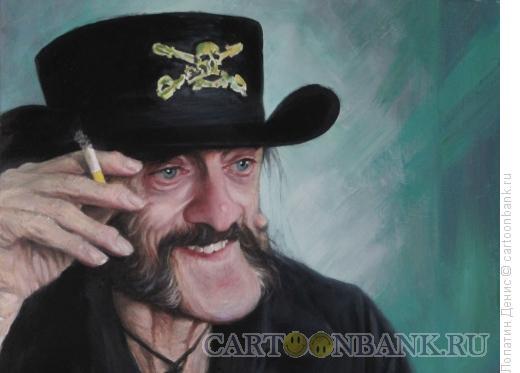 Карикатура: Lemmy Mot?rhead, Лопатин Денис