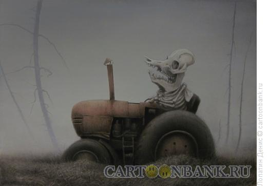 Карикатура: Поросёнок Пётр, Лопатин Денис
