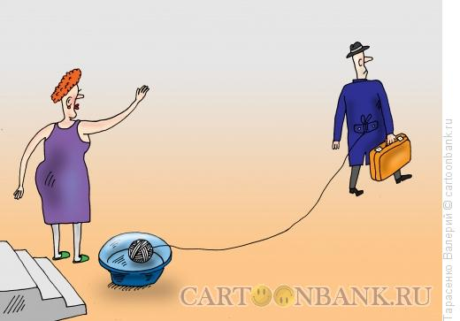 Карикатура: Привязанность, Тарасенко Валерий