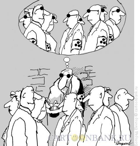 Карикатура: Представление слепого, Богорад Виктор