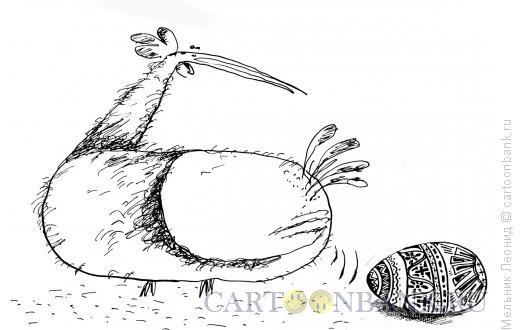 Карикатура: Смешные веселые куры(серия), Мельник Леонид